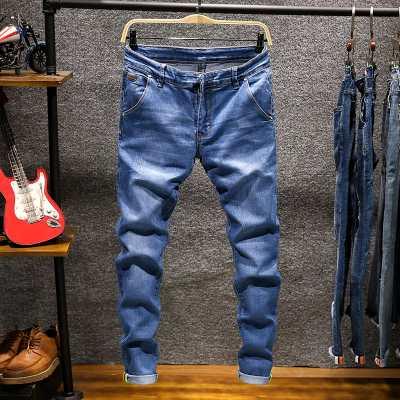 男士牛仔� Dennis ripped jeans Men's trousers jeans