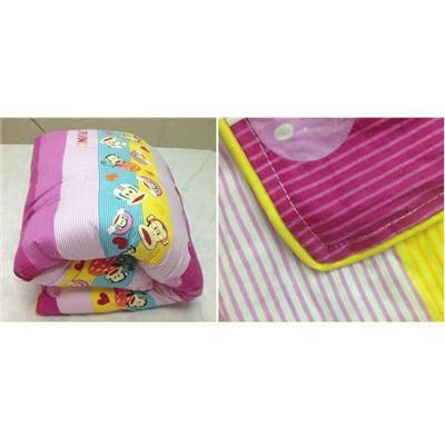 包邮全棉幼儿园被子三件套纯棉儿童午睡空调夏被含芯被褥六件被含