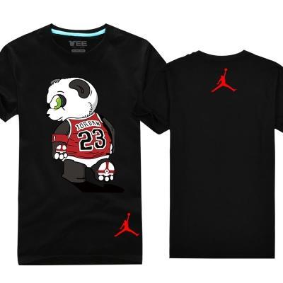 易建联t恤熊猫飞人乔丹23号篮球队服短袖科比黑曼巴蛇中国队cba