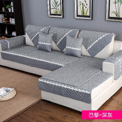 家具沙发套欧式圆凳子套沙发垫九件套垫子加椅坐垫木罩布艺发扶手