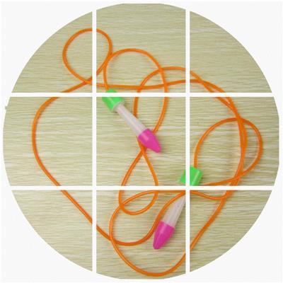 套装 小学体育课用品 鸡毛+丝带毽球+时尚儿童毽子跳绳品鸡毛毽子