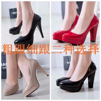 面包鞋女学生韩版低跟女鞋凉鞋女婚鞋网红亮片汉服学生大码平底老