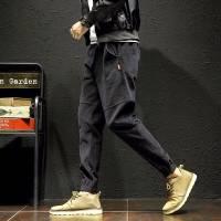 【高品质】 男士休闲裤男宽松运动裤男大码小脚裤男束脚长裤男装