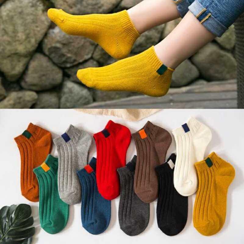 【买10双送1双】夏季薄款船袜男女士短袜学生隐形袜情侣低帮袜子