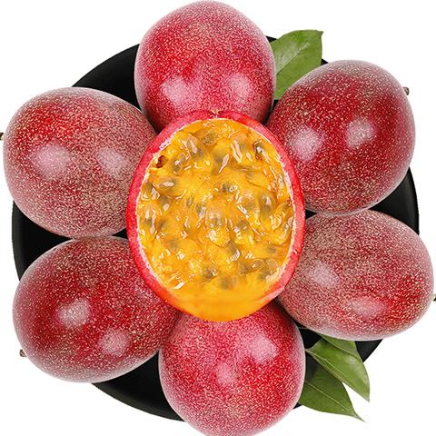 【送开果器】广西百香果5斤3/2斤12/10个水果新鲜批发_0
